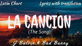 J Balvin & Bad Bunny - La Cancion (English/Spanish Lyrics)