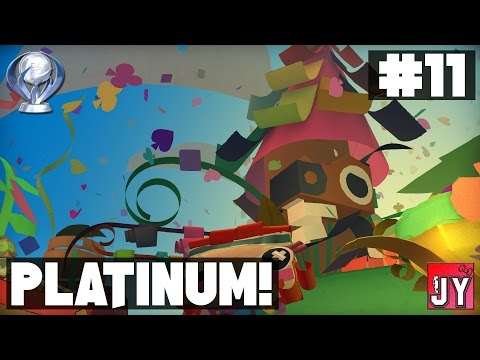 [100%] Chapter 10 - The Lab! ~ Road to Platinum! [PS4] Tearaway Unfolded