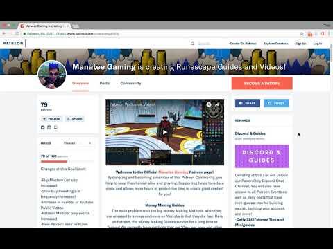 Manatee Gaming Runescape is creating Runescape Money Making