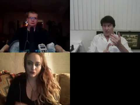 Into the Abyss para radio W/ host Trent Clarno Co Host Karissa Fleck With David Oman