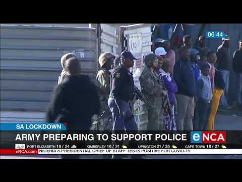 Army Preparing To Support Police