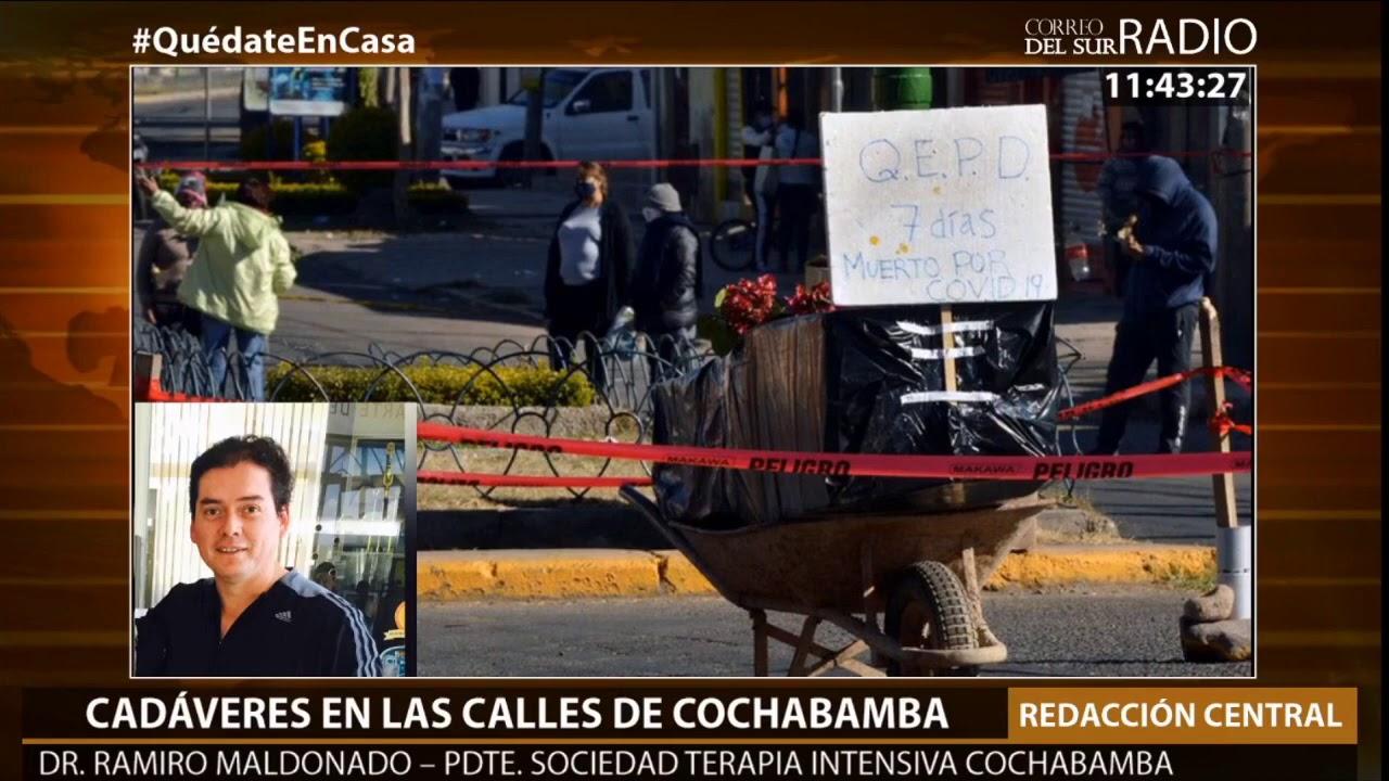 Entrevista al Presidente de la Sociedad Boliviana de Medicina Crítica de Cochabamba