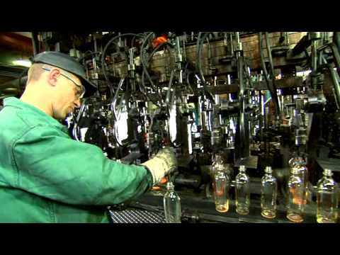 VOA glass bottle manufacturer - YouTube