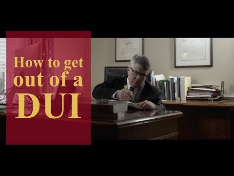 How to get out of a DUI? | Pennsylvania Criminal Defense & Personal Injury Lawyers