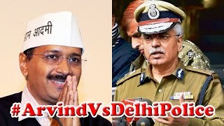 #ArvindVsDelhiPolice: AAP fights Delhi Police on streets : The Newshour Debate (21st July 2015)