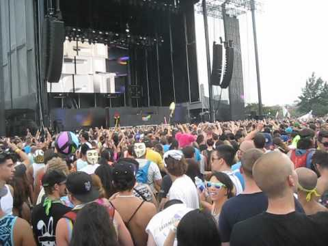 Electric Zoo NYC 2012 Sunday Part 01 - Dash Berlin