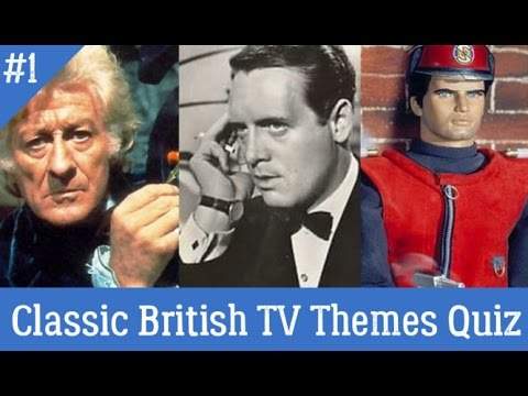 Classic British TV Themes Quiz