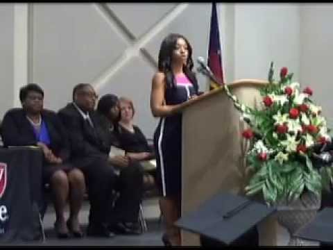 Brandice Hudson Keynote Speaker at Virginia College Graduation