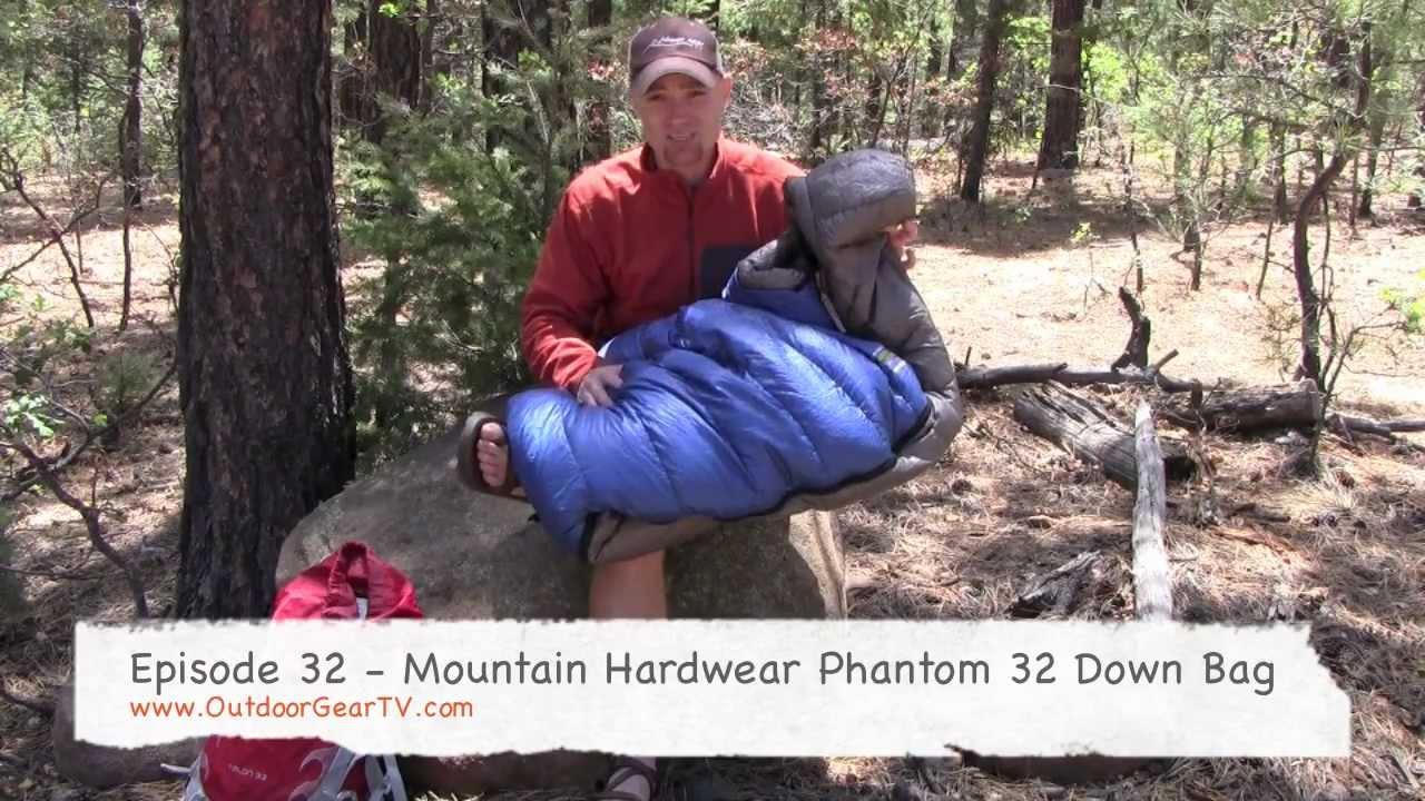 Mountain Hardwear Phantom 32 Sleeping Bag Review