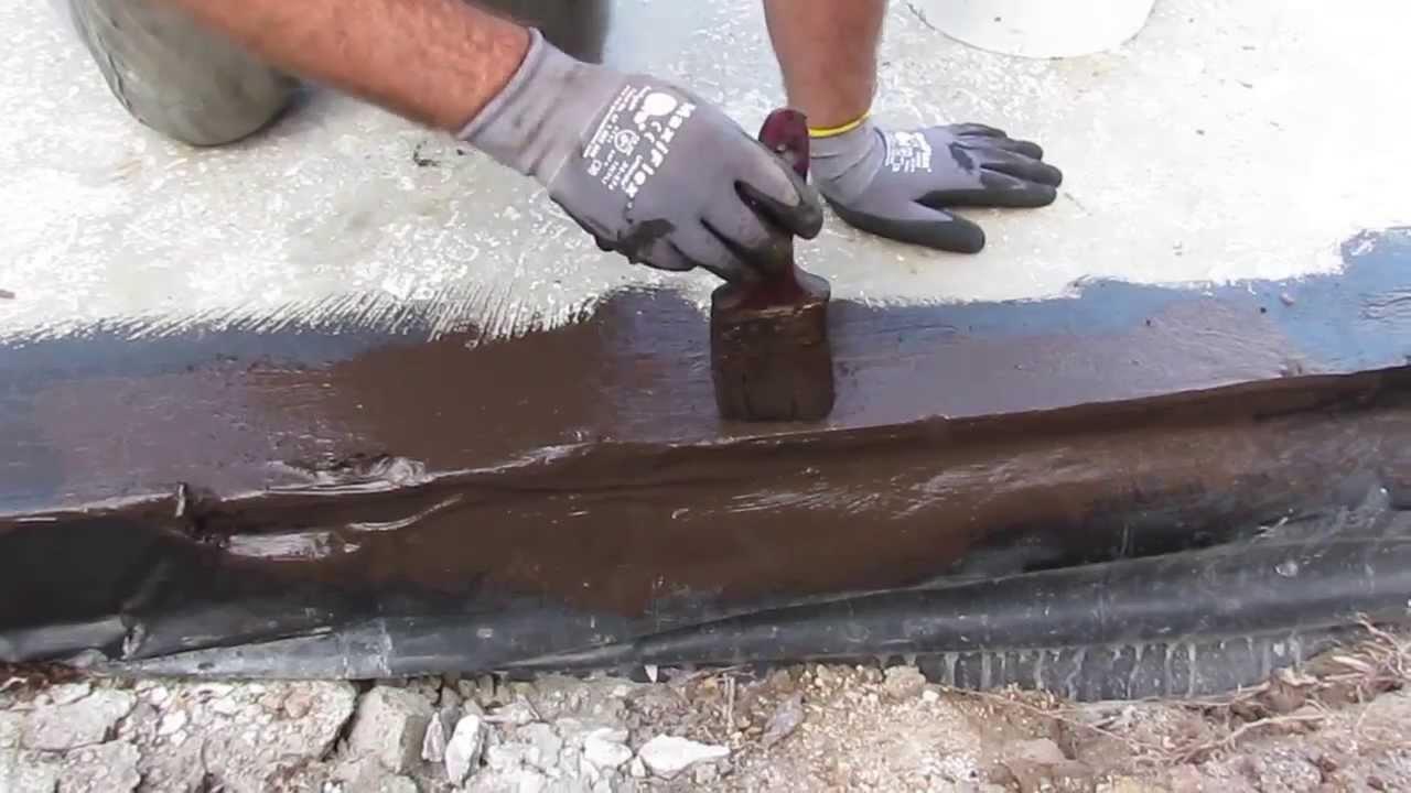 Concrete Slab Waterproofing Using Liquid Rubber Membrane