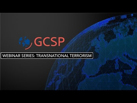 GCSP Webinar on Transnational Terrorism