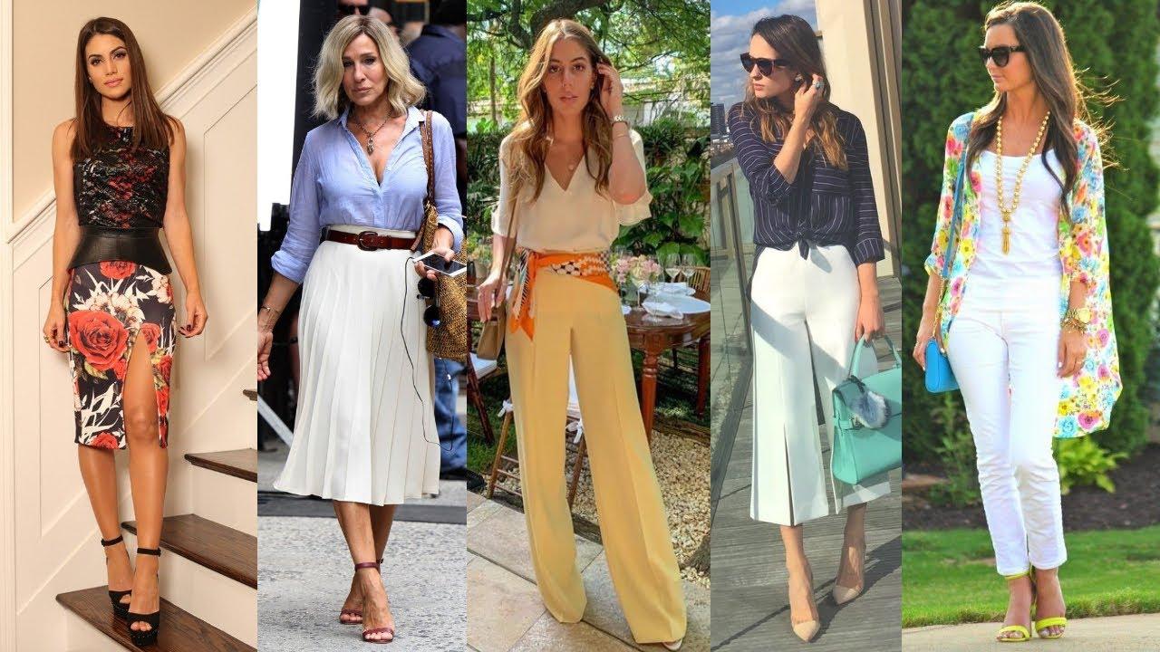 Tendencias De Moda Mujer Elegante Fina Y Sofisticada Primavera Verano 2020 2021 Fashion Love Youtube