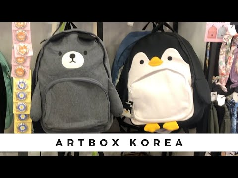 Shop with me at Artbox Korea for Cute Korean Stationery and more ft. Skillshare!