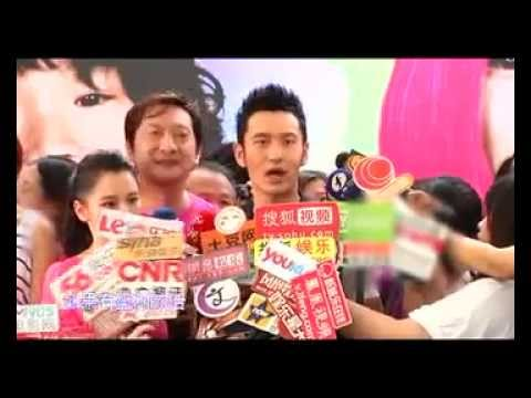 Chinese Movie Report: press event for Saving Mother Robot 2 w/ Vivian Hsu Huang Xiaoming 黄晓明