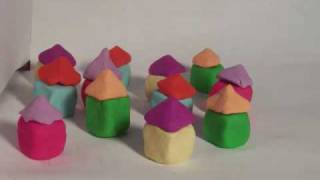 Little Boxes - Malvina Reynolds [Claymation]
