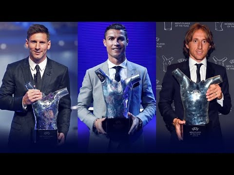 UEFA Player Of The Year Award Winners II 2010 - 2018 II