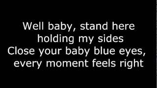Baby Blue Eyes - A Rocket Too The Moon (Lyrics)