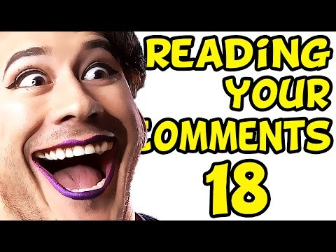 GIRLFRIEND DOES MY MAKEUP | Reading Your Comments #18