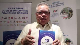 DTI Sec Mon Lopez in the 12 Strategies of Franchising Book Launch