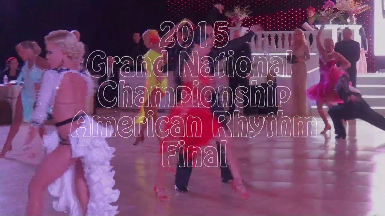 Professional American Rhythm Final Round 2015 Grand National Championships
