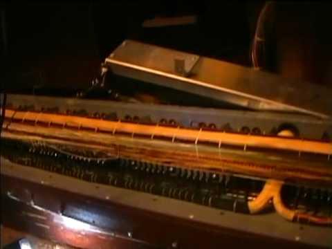 Hammond RT-3 organ pedal switch contact repair (part 1)