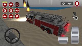 Fire Truck Driving Simulator 2020 - fire games - Android Gameplay screenshot 5