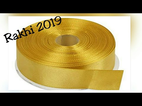 Latest Rakhi Design/Rakshbandhan 2019/New design Rakhi/Rakhi for competition/DIY/Homemade Rakhi