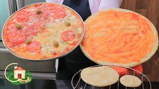 Massa de Pizza Caseira Profissional