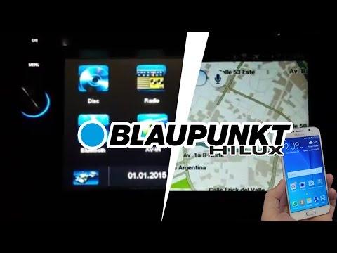 Audio System Blaupunkt Las Vegas 530 on Hilux.