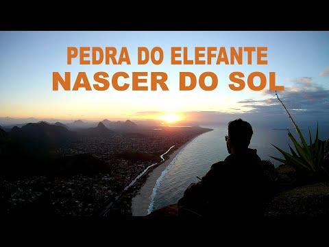 Nascer do Sol na Pedra do Elefante (Alto Mourão) Itaipuaçu - Niterói - RJ