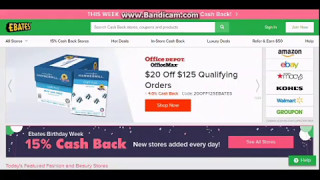 Trick on how to Make $40 PayPal Money Everyday From Ebates 2017