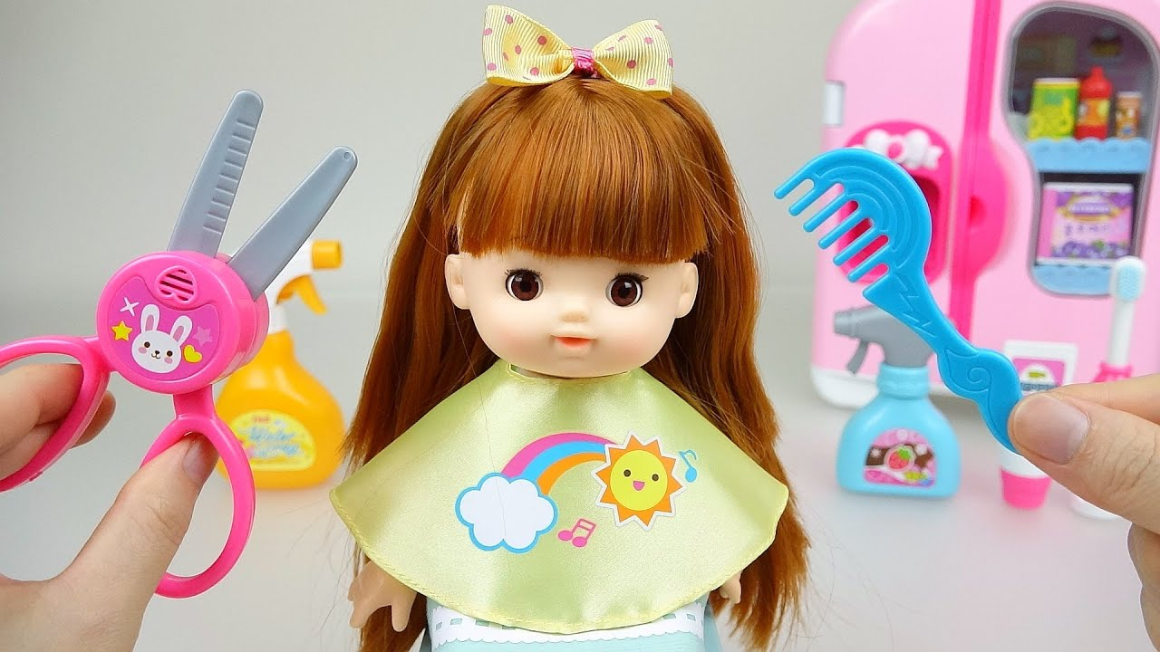Toys For Hair : Baby doll hair cut toys youtube