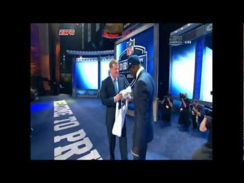 NFL Draft 2012 - Round 1 Pick #6 - Morris Claiborne (Cowboys)