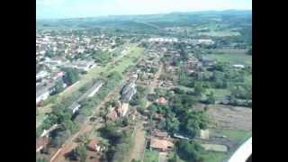 Vista aerea da cidade de Uraí Pr