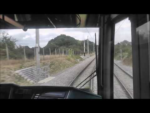London Tramlink Cab Ride - Wimbledon to New Addington