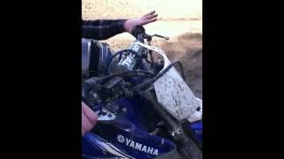 """How to perform the """"burnout"""" on a dirtbike"""