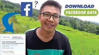 How To Download  Your All Facebook Data ? Downloaded My Face...