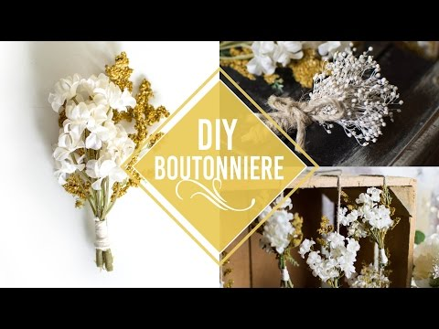 DIY Boutonnieres for CHEAP | More Ways to Use them!