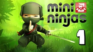 MiNi Ninjas Let's Play | Ep 1 | Ninja Mountain (PS3/XBOX360)