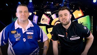 Mark McGeeney after his 7-6 loss in the final over Glen Durrant | Lakeside World Darts Championship