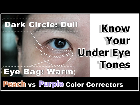 How To Reduce Puffy Under Eye Bags & Dark Circles w/ Color Correcting Concealers