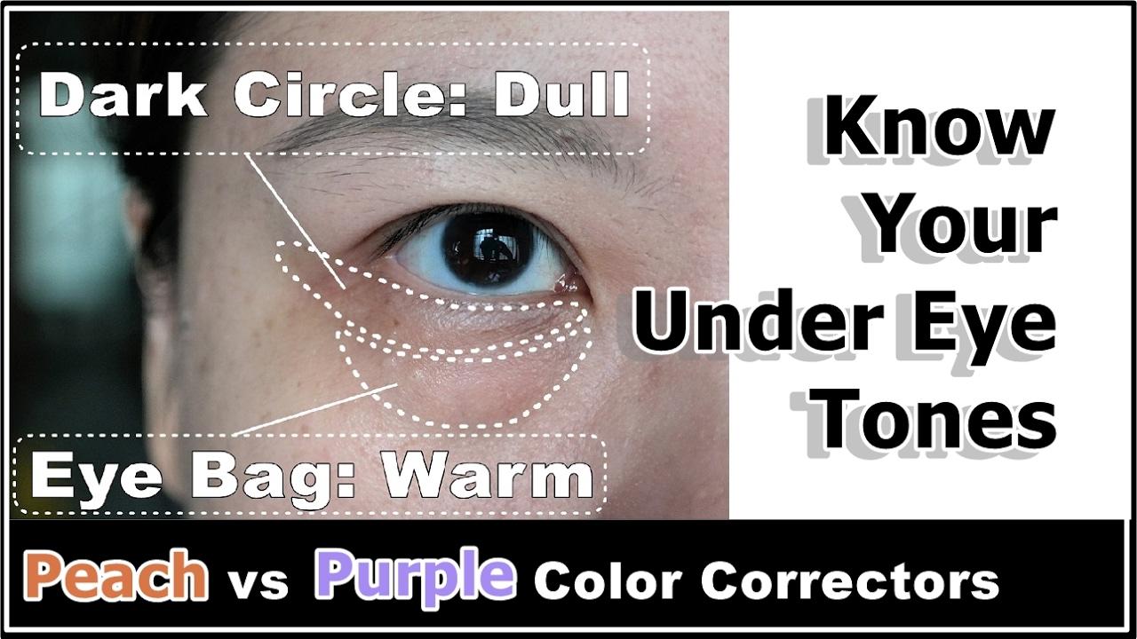 How To Reduce Puffy Under Eye Bags & Dark Circles w/ Color ...