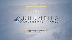 Web Design Portfolio - Khumbi-ila Adventure Travel -  KTM Rush