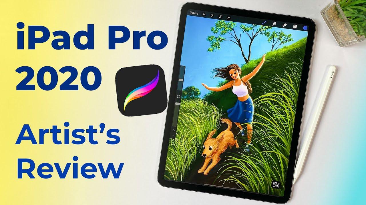 iPad Pro 2020 : Artist's Review