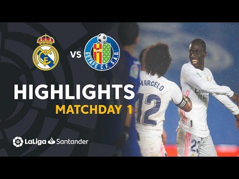 Highlights Real Madrid vs Getafe CF (2-0)