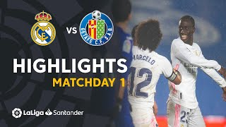 Highlights Real Madrid vs Getafe CF (2-0)