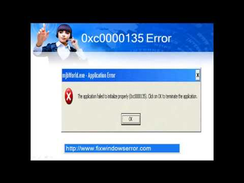 "Complete guide to remove windows error ""the application failed to initialize properly(0xc0000135)"""