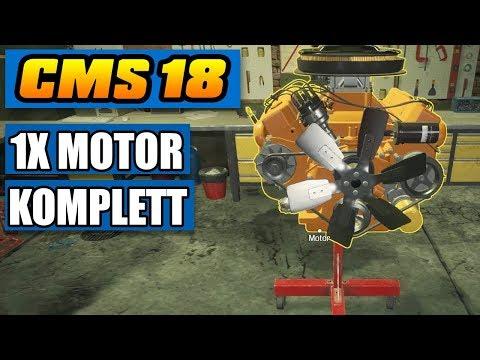 Auto-Werkstatt Simulator 2018 #103 - Motor 1x komplett - CMS18 Deutsch