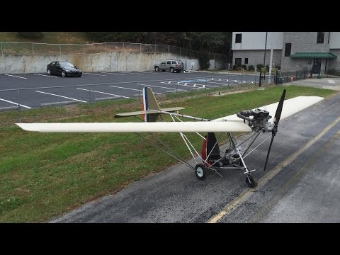 Maiden Flight of the Skyhopper Ultralight (Nov 28, 2015)