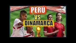 Peru vs Dinamarca 0-1